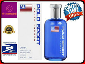 Ralph Lauren Polo Sport Men Eau De Toilette Spray 4 2oz 125ml New In Box 3360372055402 Ebay