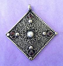 Filigree and Pearl pendant Tibetan Nepalese