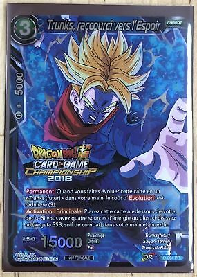 Trunks Dragon Ball Super Card Game Espoir des Saiyans P-135 PR//VF