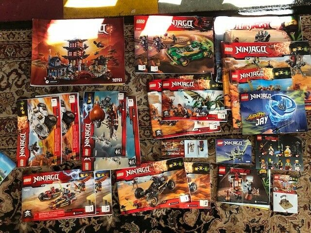 HUGE Assortment of Lego Manuals - City, City, City, Creator, Minecraft, Ninjago, Creator etc ec8da0