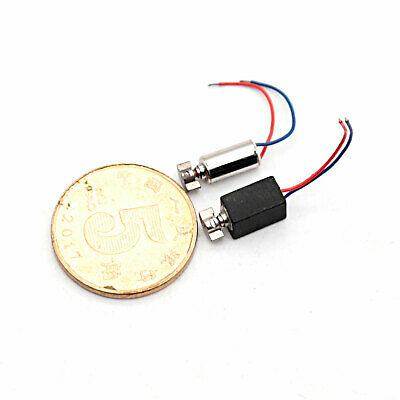 1PCS Nidec 8mm Micro Brushless Motor DC3V-4.2V Button Vibration Motor For DIY