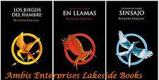 Hunger Games Trilogy Spanish Los Juegos del Hambre Trilogio, En Llamas, Sinsajo