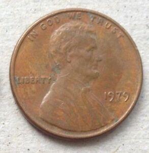 USA 1979 1 cent coin