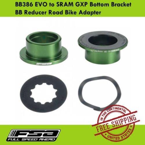 FSA BB386 EVO to SRAM GXP Bottom Bracket BB Reducer Road Bike Adapter