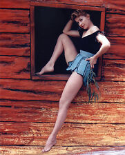 "Donna Douglas 8x10 ""Beverly Hillbillies"" TV Memorabilia FREE US SHIPPING"
