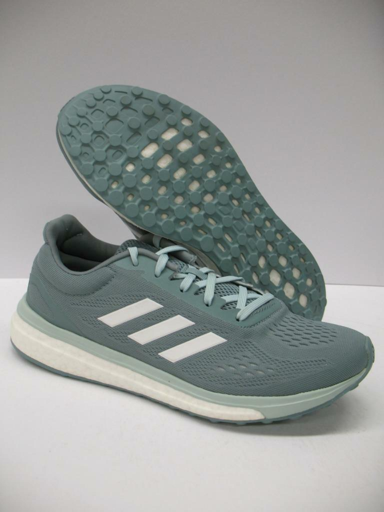 Adidas BA7785 Sonic Drive Running Training Shoes Sneakers Green White Womens 7.5
