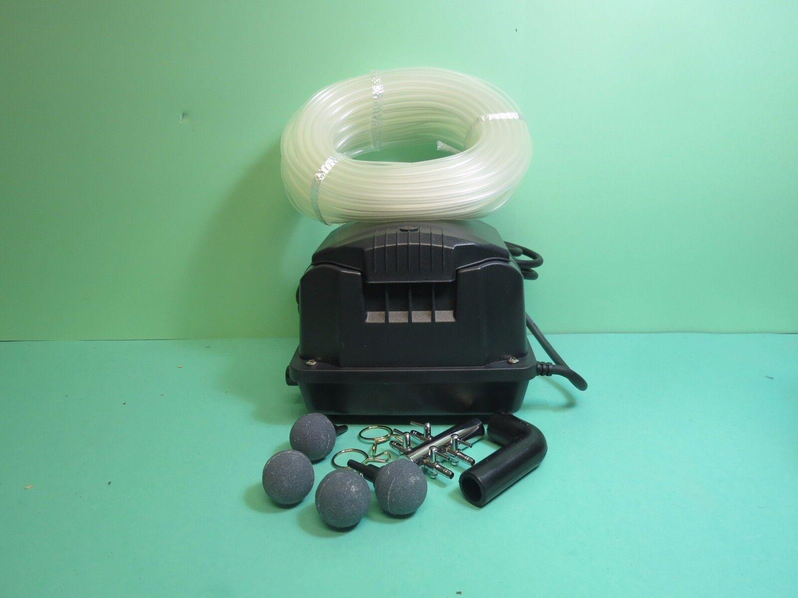 Aquaking Membrankompressor AK2 20 15 Watt für Gartenteich,Sauerstoff