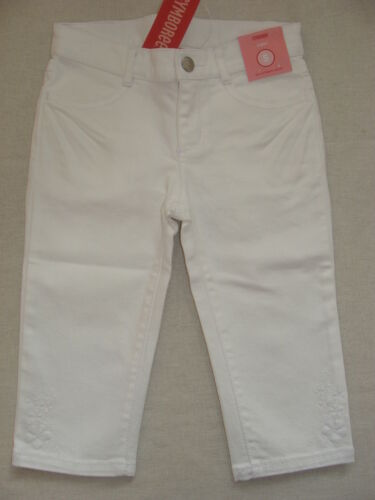 Gymboree FLORAL REEF Solid Basic White Capri Pant NWT 5