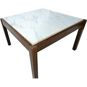 Marble Top Coffee Table Tail Side