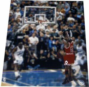 6a351e1bce1 Michael Jordan Unsigned 8x10 Last Shot 6x Champs UDA Upper Deck ...