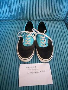 5 Blue Black Vans 38 Taille Glitter 8TH7qn