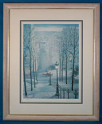 """Chun """"Early Morning"""" Lithograph Limited Edition Well Framed"""