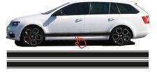 Skoda Octavia Aufkleber Seitenstreifen Set für (Kombi & Limousine) #4