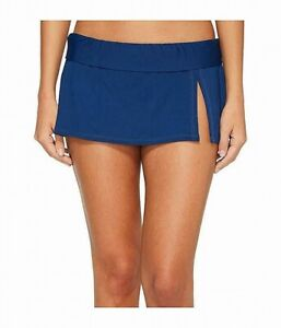 Bleu Rod Beattie Womens Swimwear Blue Size 14 Skirted Bottom Solid $60 480