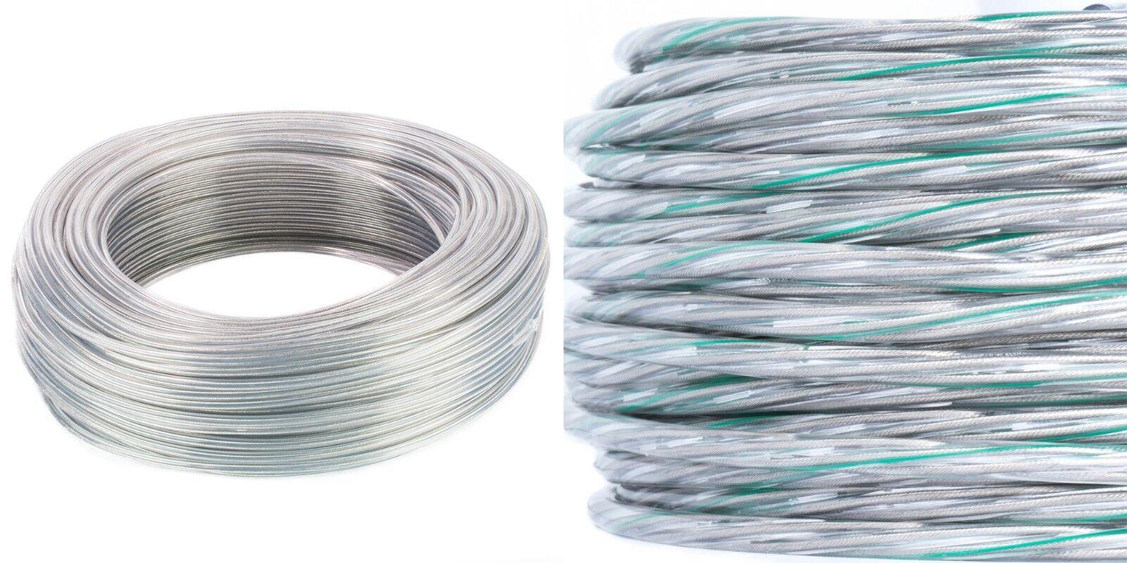 PVC PVC Lampenkabel Schlauchleitung Rundkabel transparent 2x0,75mm²   3x0,75mm²