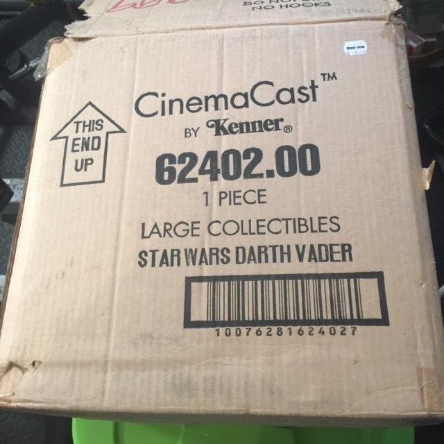 Star Wars Kenner Cinemacast Cold Cast Porcelain Darth Vader Statue 10K 1994