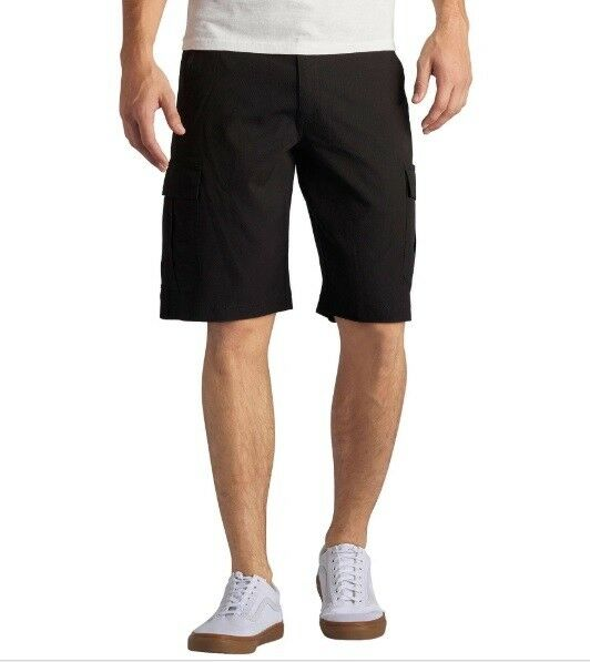 54fc2bf0fc Lee Men's Big and Tall Dungarees Performance Cargo Short - Choose Sz/color  Black 54 | eBay