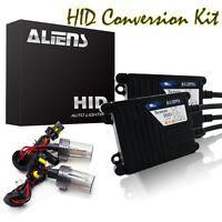 35W HID Xenon Bulbs Lamp Headlight Slim Ballast Conversion Kit H11 All Color