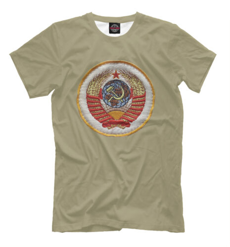 Герб СССР NEW t-shirt USSR Soviet Union Coat of arms of the USSR Moscow 476417