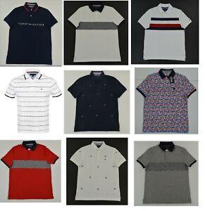 1NWT Men's Tommy Hilfiger Short-Sleeve Polo Shirt XS S M L XL XXL XXXL
