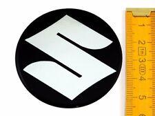SUZUKI ★ 4 Stück ★ SILIKON Ø55mm Aufkleber Emblem Felgenaufkleber Radkappen