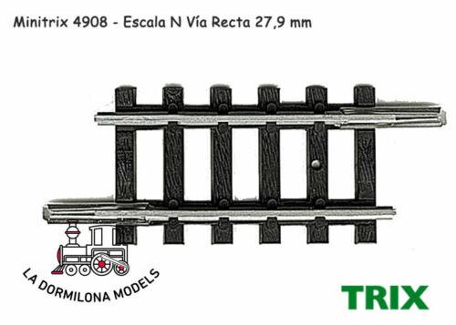 c98 VIA en RECTA 27,9mm NUEVA MINITRIX 14908 ESCALA N