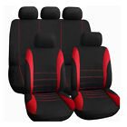 Car Seat Cover Interior Accessories Universal Styling Car Cushion Black + Red