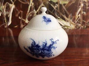 Rosenthal-Romance-Bleu-Fleurs-Noble-Sucrier-avec-Couvercle