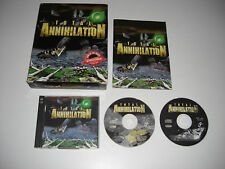 TOTAL ANNIHILATION Pc Cd Rom Original BIG BOX - FAST SECURE POST