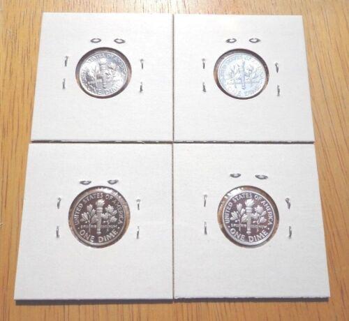 2013 P D S S Roosevelt Dime Proof Silver Proof 4 Coin Set Lot