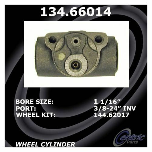 BRAND NEW CENTRIC REAR WHEEL CYLINDER 134.66014 FITS VEHICLES ON CHART