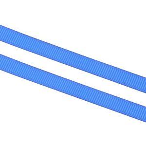 10-M-grain-10mm-webband-bordato-ornamentali-CUCIRE-NASTRO-SCRAPBOOKING-BLU-Best-c247