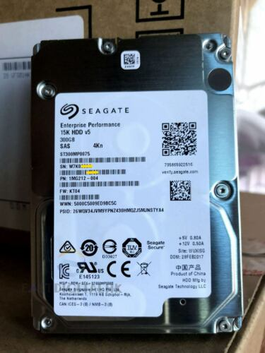 ST300MP0075 SEAGATE 300GB 12G 15K 2.5/'/' SAS 4Kn Hard Drive 100/% Original NEW