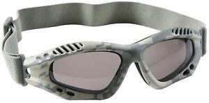 aa590e45ec Image is loading Tactical-Goggles-ACU-Digital-Camo-Lightweight-UV-400-