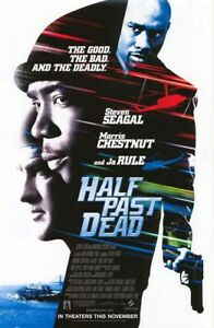 HALF PAST DEAD MOVIE POSTER 2 Sided ORIGINAL 27x40 STEVEN ...