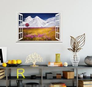 3D Field Petal 433 Open Windows WallPaper Murals Wall Print Decal Deco AJ Summer