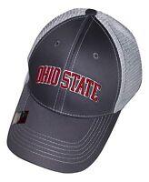 Ohio State Buckeyes Adjustable Cap Mesh Hat Ncaa