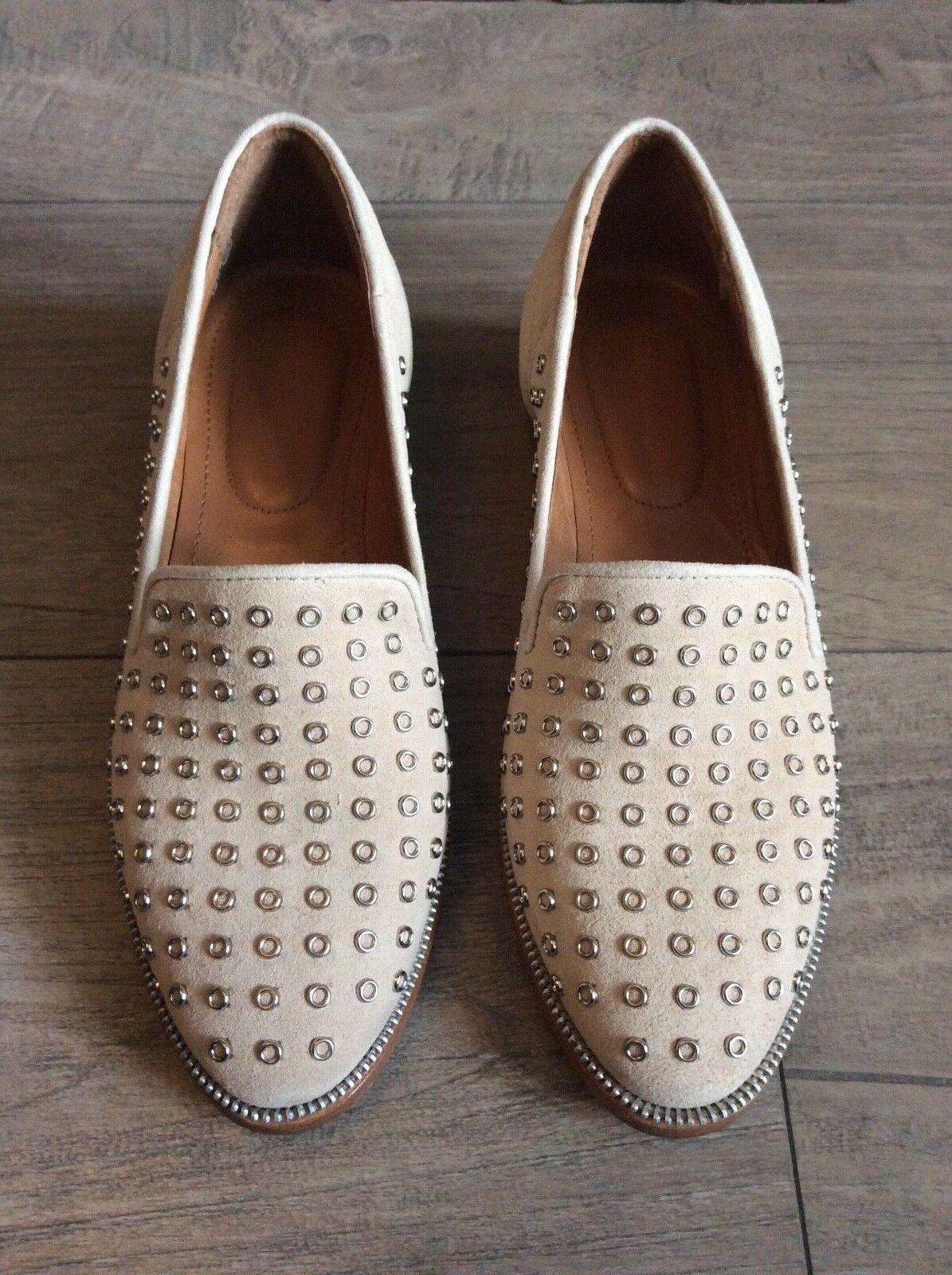 100% Authentic Kooples Ladies Suede Flat shoes shoes shoes ad7a28