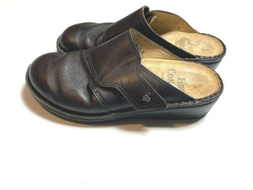 Finn Comfort $235 Amalfi Womens 38 Slides Shoes Mu