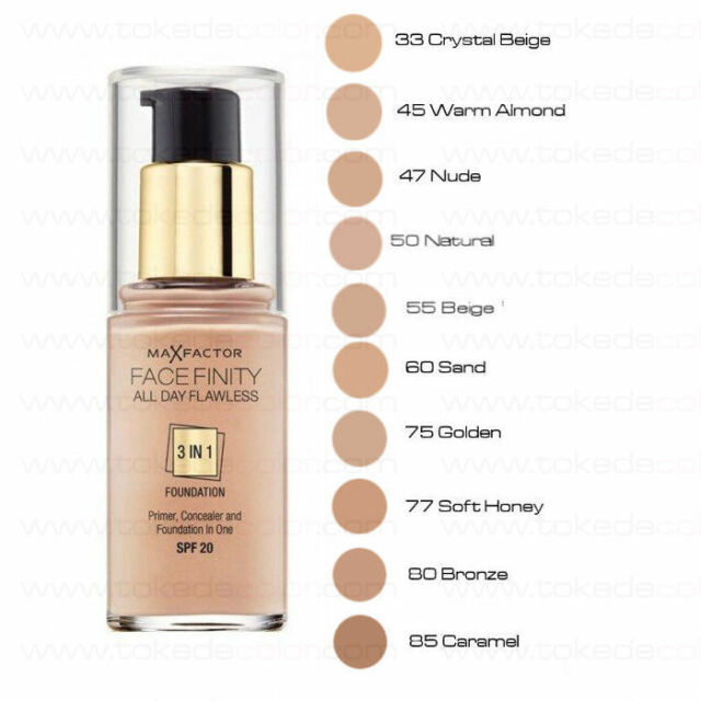 max factor infinity foundation
