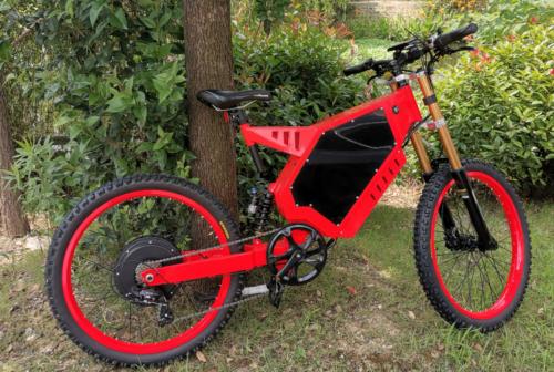 ODBRO-8000W-Enduro-Ebike-Electric-Mountain-Bicycle-Motorcycle-110KM-H-75-200KM