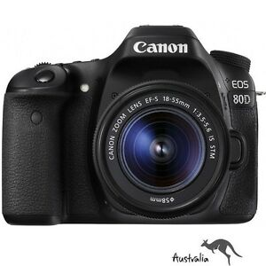 3YR-AU-WTY-FREE-POSTAGE-Canon-EOS-80D-with-18-55mm-STM-Lens-Camera-Kit