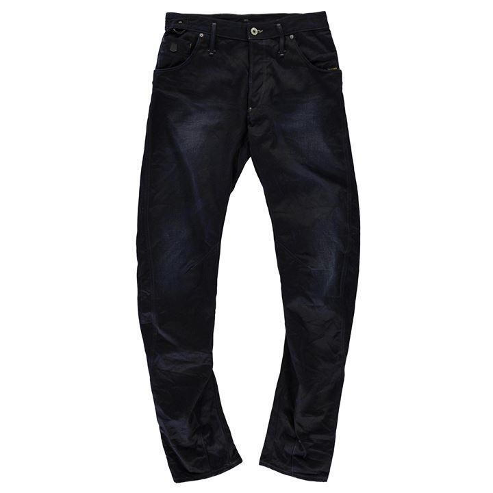 G Star Raw New Riley 3D Loose Tapered Mens Jeans Raw bluee 30W 34L