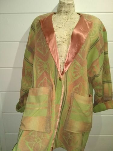 Cirq Custom Seamstress Boho Hippy Lagenlook Coat O