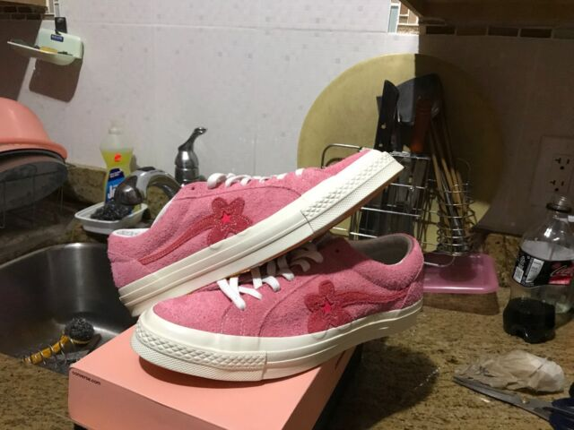 148d98120b6cc0 Converse X Tyler Creator One Star Ox Pink Paradise 160325C Men 9 with  Defects