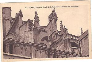 38-cartolina-VIENNA-Dettagli-di-la-cattedrale-Pinnacoli-ai-piedi