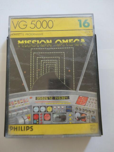 Jeu VG 5000 - MISSION OMEGA - Philips
