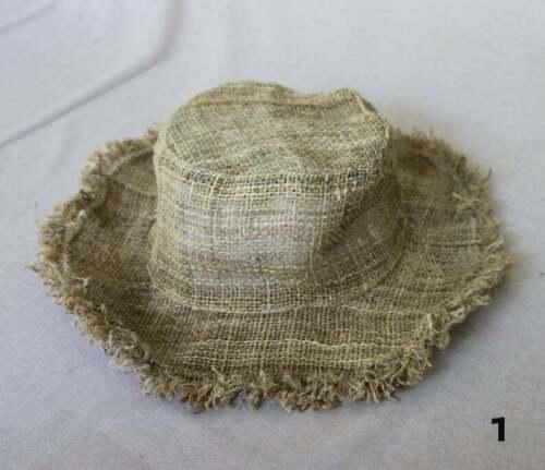 Hemp Summer Hat Natural hippie hat Beach Panama Hat