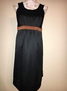 Liz-Lange-Maternity-For-Target-Black-Sleeveless-Dress-Size-Small-S