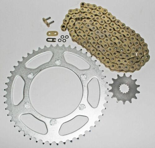 1999-2014 Yamaha YZ250 Gold 520-114 L O Ring Chain and Sprockets 13//51